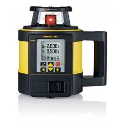 Niwelator laserowy Leica Rugby 880 i Detektor Rod Eye