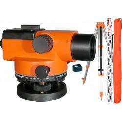 GEO-FENNEL No. 10-32 Niwelator optyczny + statyw + łata